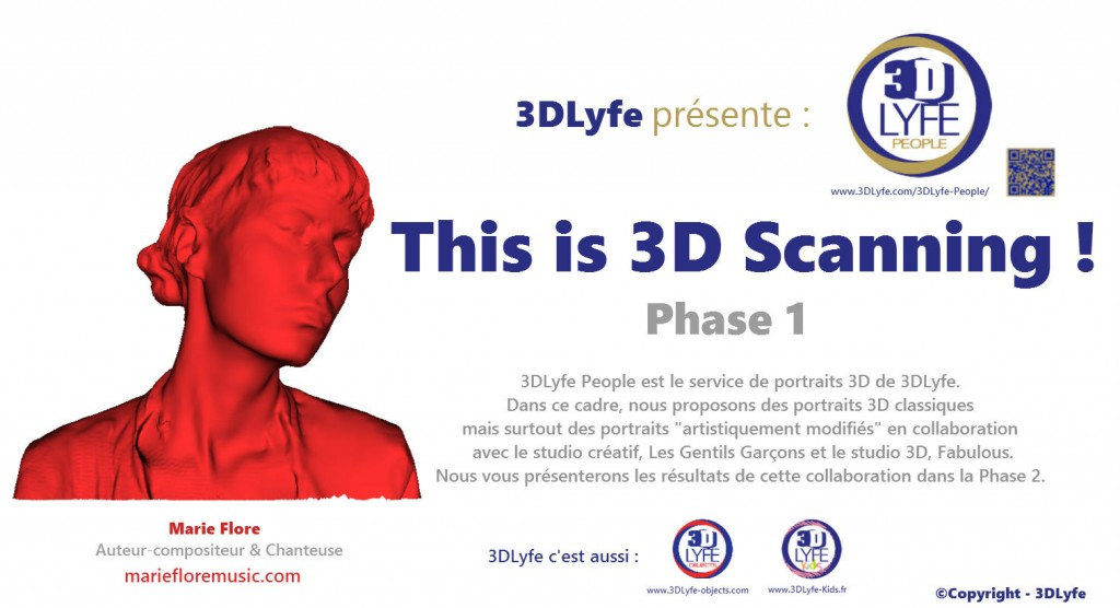 This is 3D scanning - Marie Flore