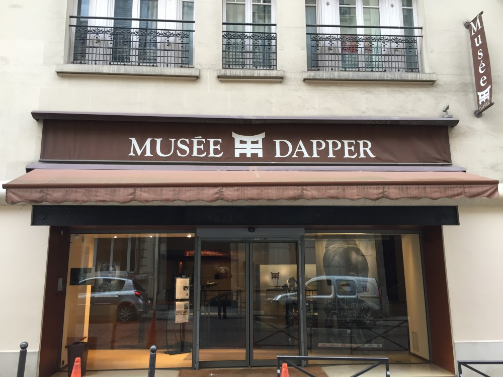 Façade musée Dapper